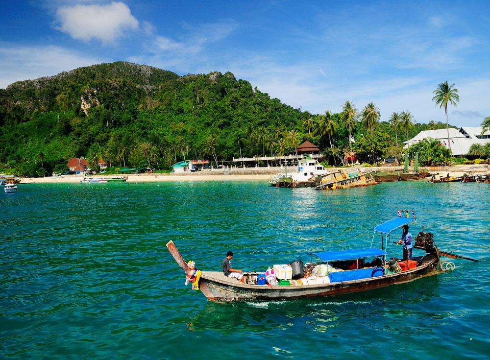 Число Пи Detail: Галерея : Пи-Пи. Бухта Тонсай. Phi Phi. Tonsai Bay