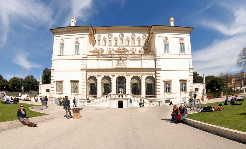 Рим. Галерея Боргезе. Rome.0140 (pano-0135)