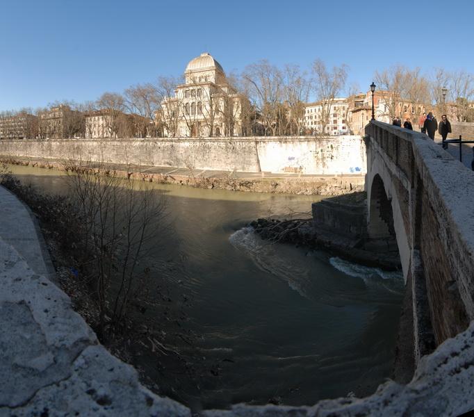 Рим. Синагога. Rome. 208
