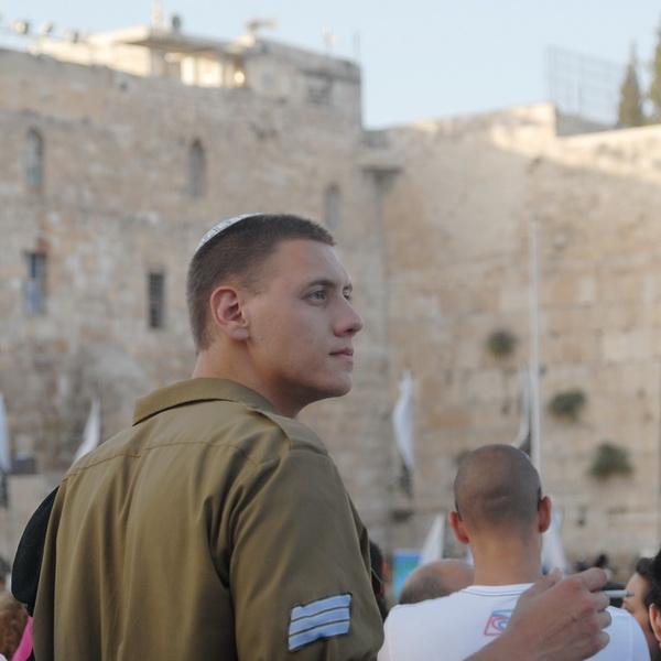 Иерусалим. Стена Плача. Присяга. 1