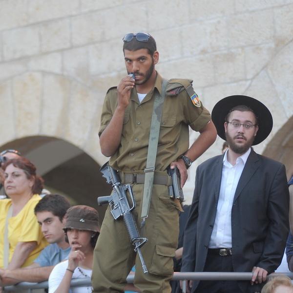 Иерусалим. Стена Плача. Присяга. 8