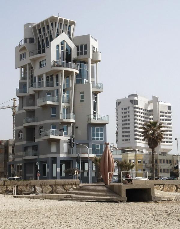 Tel Aviv - dom na naberezhnoj