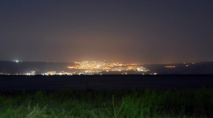 Вид с Дугит на город tveriyu ~7.5 km!