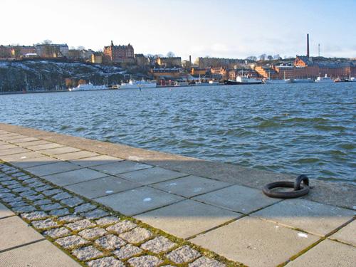 Стокгольм. Набережная. Stockholm. Quay.