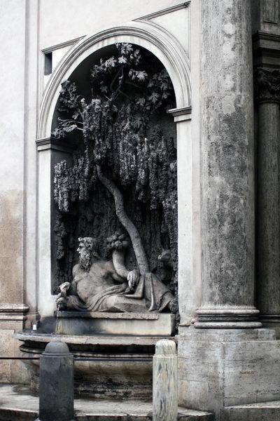 Площадь 4-х фонтанов