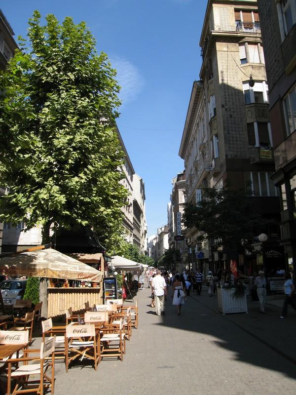 Улица - БУдапешт.