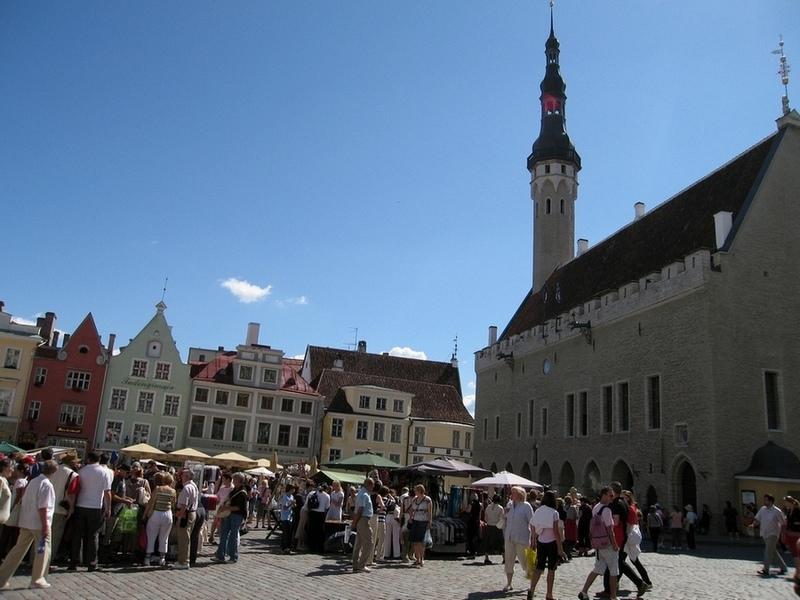 Таллинн. Ратуша. Tallinn.
