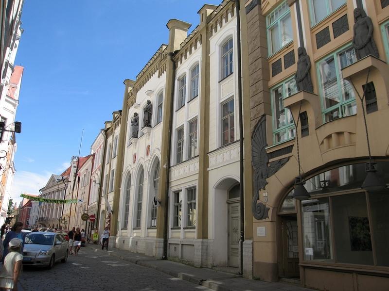 Таллинн улица ПИКК