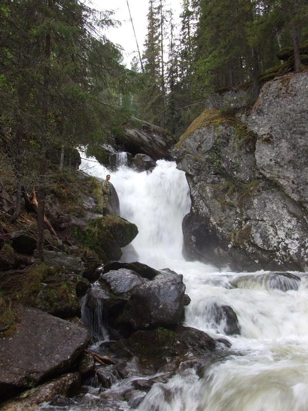 Водопад на р. Жиголан