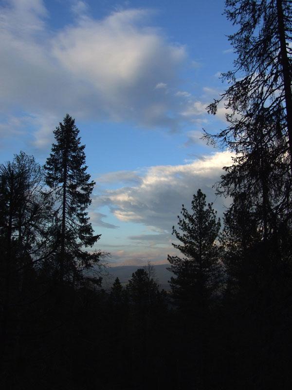 Небо... и облака