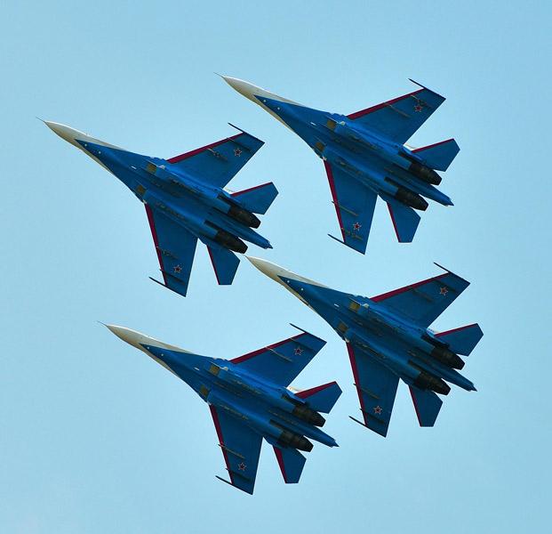 Русские витязи. МВМС-2013. Авиашоу 76.