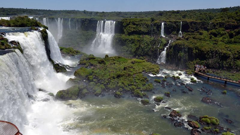 Бразилия. Водопады Игуасу. Brasil. Iguacu Falls. 70