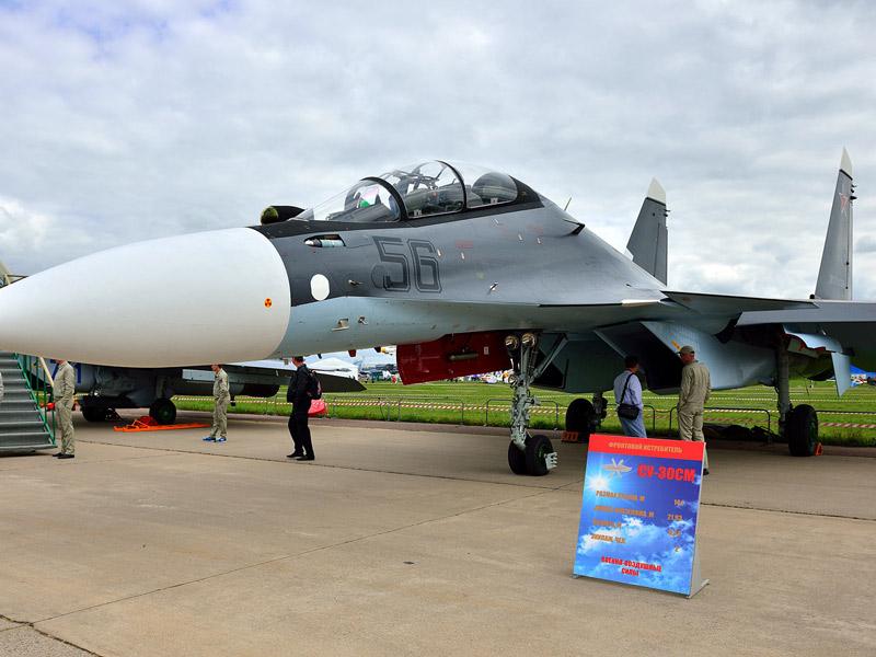 Су-30СМ. МАКС-2013. Авиашоу 15.