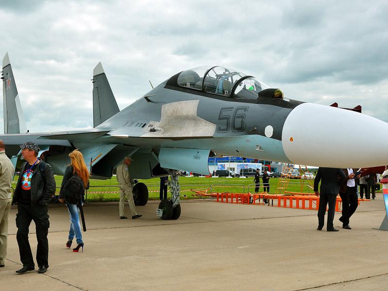 Су-30СМ. МАКС-2013. Авиашоу 14.