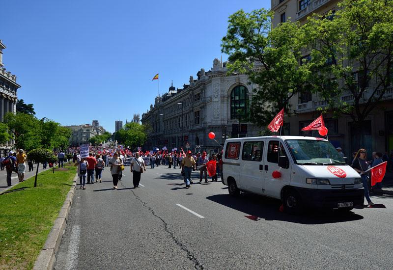 Мадрид. 1 мая 2014. Madrid. 11