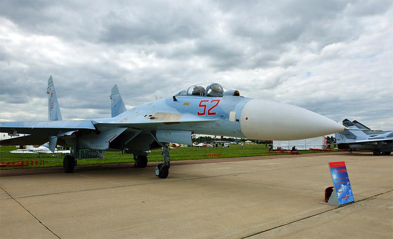 Су-27. МАКС-2013. Авиашоу 16.