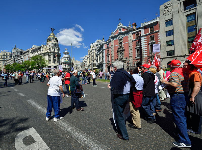 Мадрид. 1 мая 2014. Madrid. 18