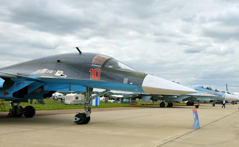 Су-34. МАКС-2013. Авиашоу 19.