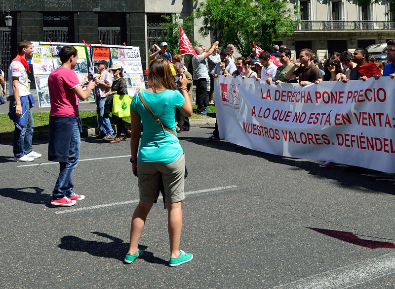 Мадрид. 1 мая 2014. Madrid. 21