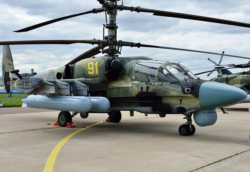 Ка-52. МАКС-2013. Авиашоу 30.
