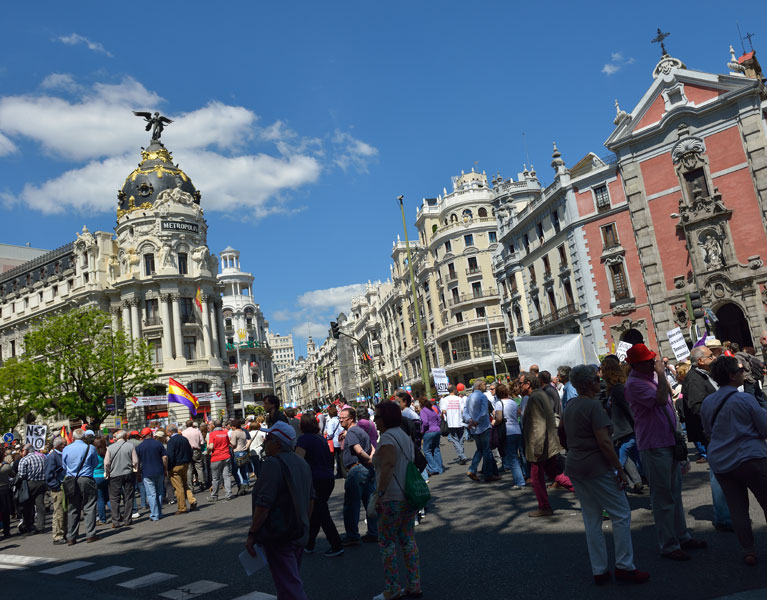 Мадрид. 1 мая 2014. Madrid. 28