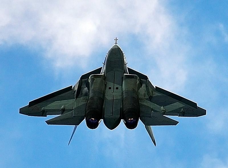 Т-50 ПАК ФА. МАКС-2013. Авиашоу 102.