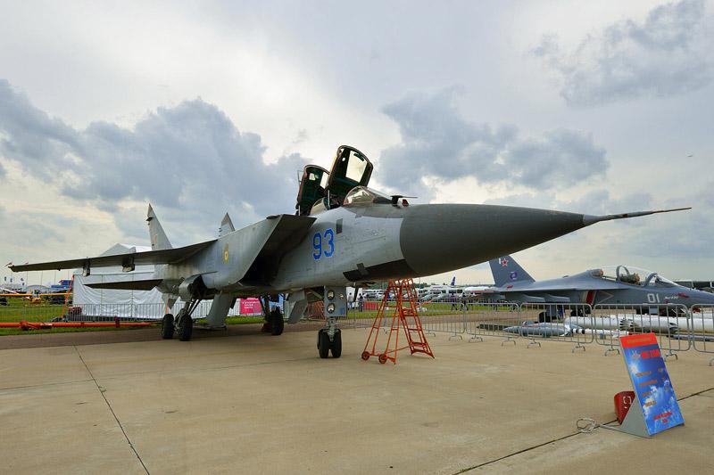 МиГ-31БМ. МАКС-2013. Авиашоу 25.