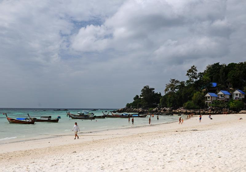 Ко Липе. Пляж Паттайя. Ko Lipe. Pattaya Beach. 10