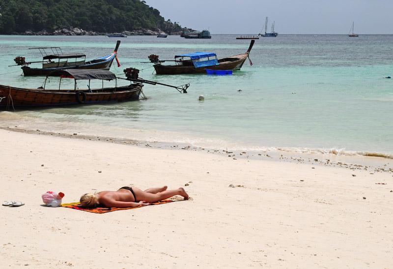 Ко Липе. Пляж Паттайя. Ko Lipe. Pattaya Beach. 9