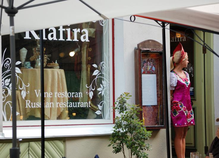 Таллинн. Ресторан Klafira.