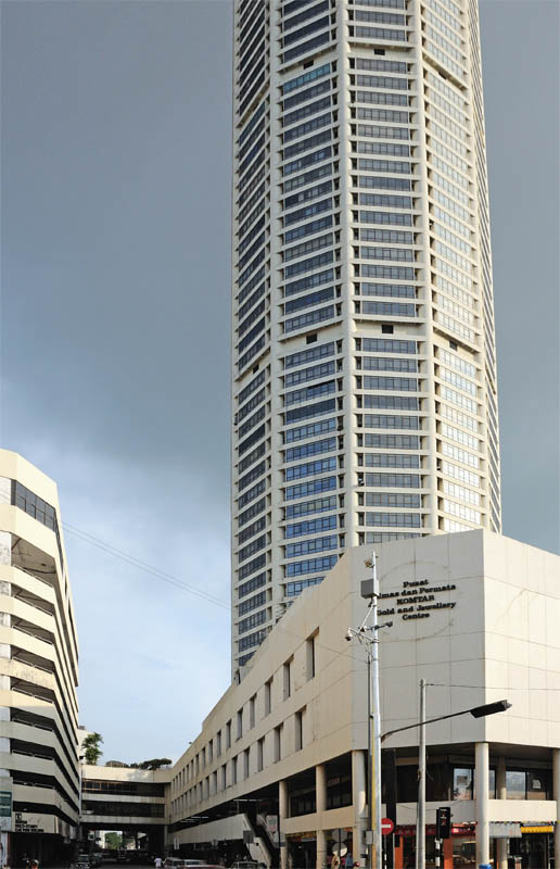 Пенанг.Башня Комтар.Penang.Komtar Tower.