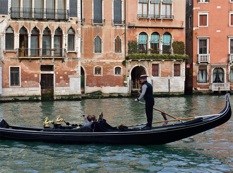 Венеция. Гондолы и гондольеры. Venice. 74
