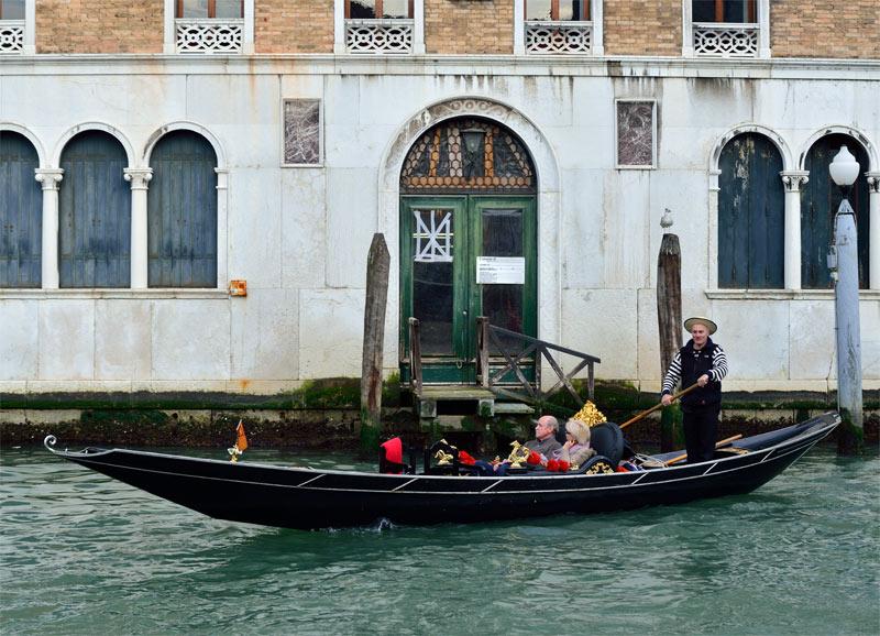 Венеция. Гондолы и гондольеры. Venice. 75