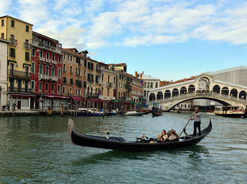 Венеция. Гондолы и гондольеры. Venice. 76