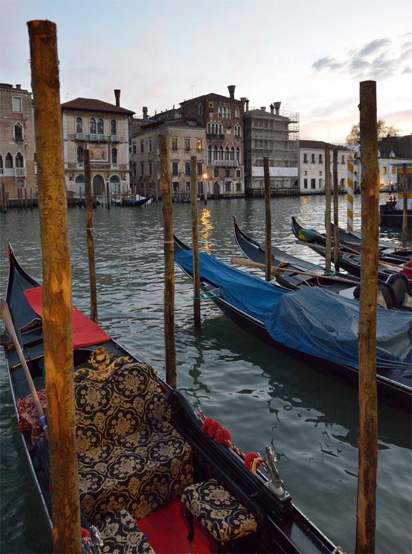 Венеция. Гондолы и гондольеры. Venice. 78