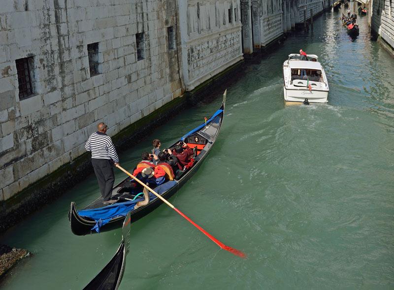 Венеция. Гондолы и гондольеры. Venice. 81