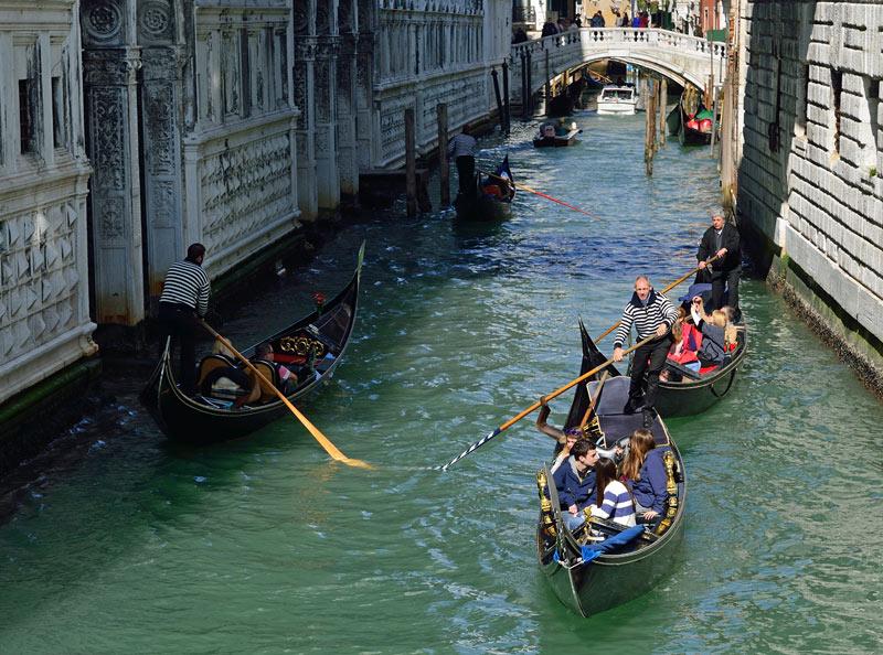 Венеция. Гондолы и гондольеры. Venice. 89
