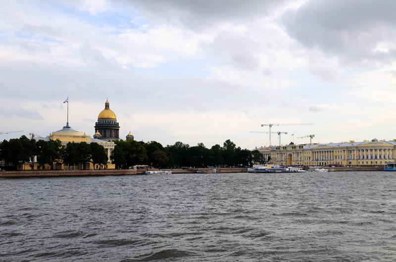 Санкт-Петербург. Исаакий, Сенат, Синод, Англ. наб
