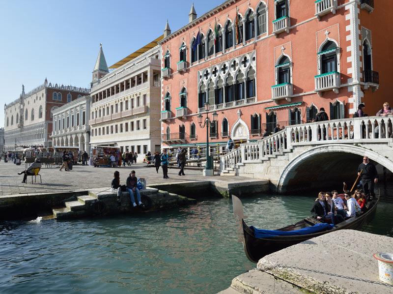 Венеция. Гондолы и гондольеры. Venice. 88