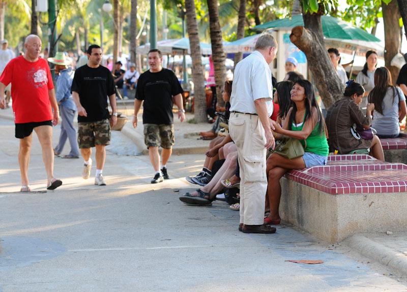 Паттайя. Бич Роад. Pattaya. 105