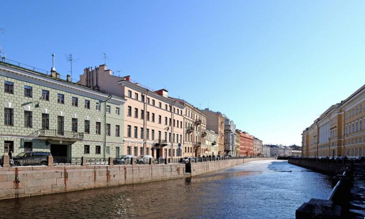 Санкт-Петербург. наб.реки Мойки. 1