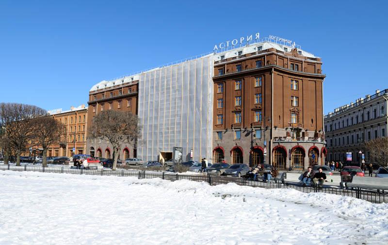 Санкт-Петербург. Гостиница Астория. 12.