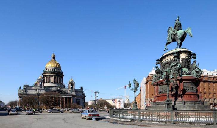 Санкт-Петербург. Исаакий и Николай I. 8.