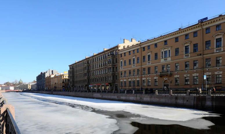 Санкт-Петербург. наб.реки Мойки. 14.