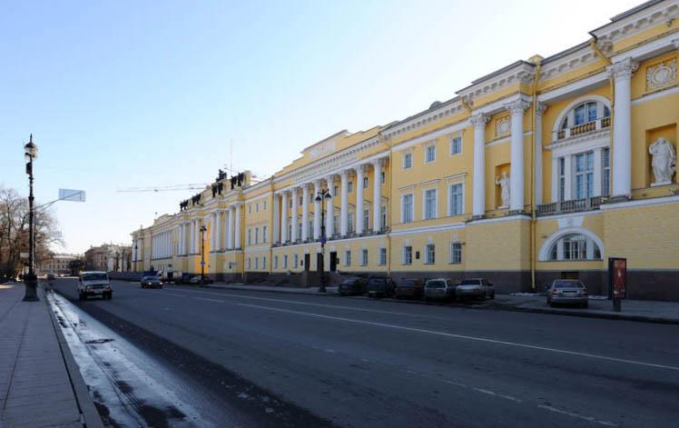 Санкт-Петербург. Здание Конституционного Суда. 19.