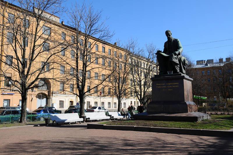 Санкт-Петербург. Памятник Римскому-Корсакову. Saint-Petersburg. Rimsky-Korsakov Monument.