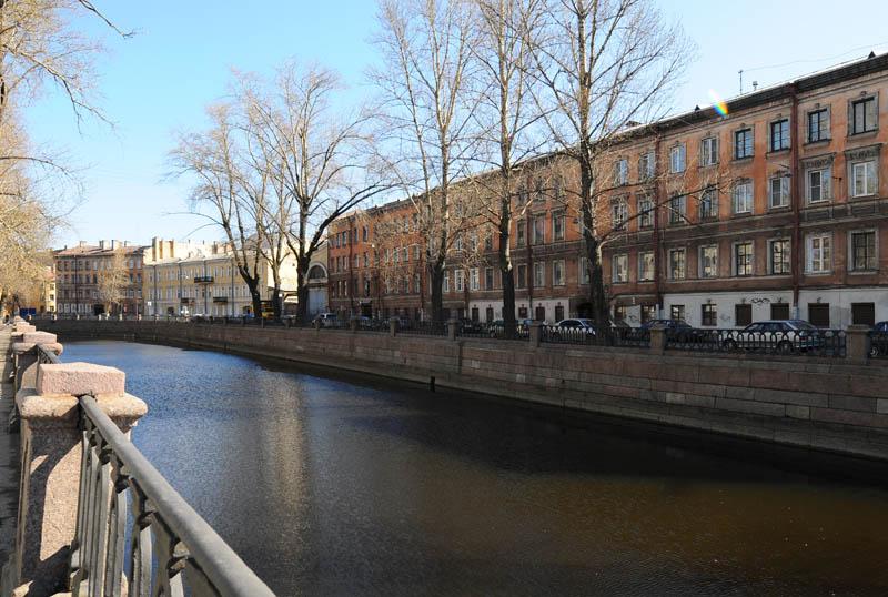 Санкт-Петербург. Канал Грибоедова. Saint-Petersburg. Kanal Griboedova.