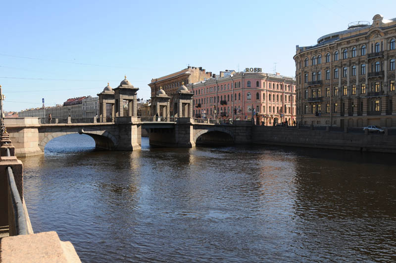 "Санкт-Петербург. Мост Ломоносова. Saint-Petersburg. Lomonosov""s Bridge."