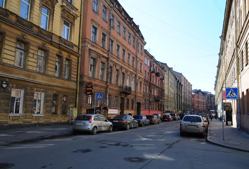 Санкт-Петербург. Улица Достоевского. Saint-Petersburg. Ulitsa Dostoevskogo.