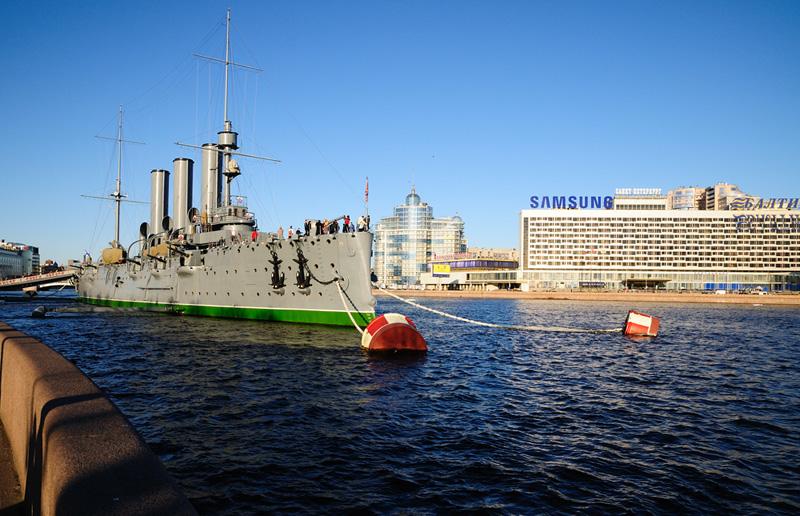 Крейсер Аврора. Санкт-Петербург. 1